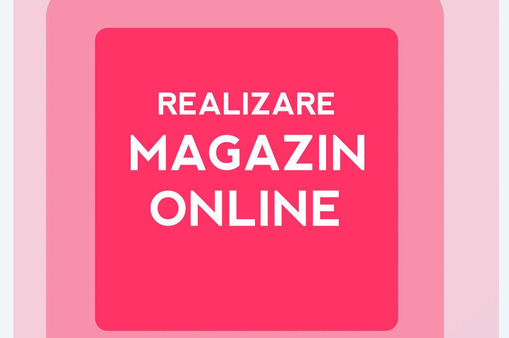 Realizare magazin online Brasov